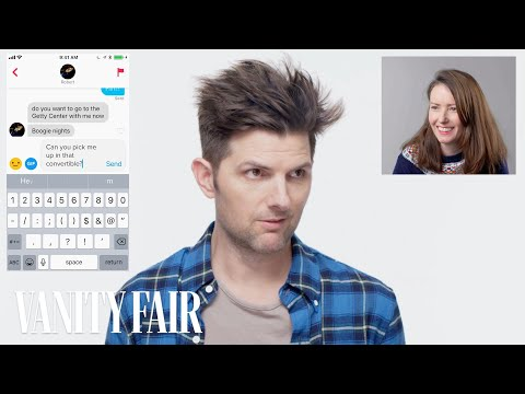 Adam Scott Hijacks a Stranger's Tinder | Vanity Fair