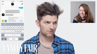 Adam Scott Hijacks a Stranger's Tinder   Vanity Fair by : Vanity Fair