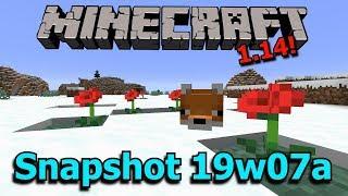 minecraft 1.14 news