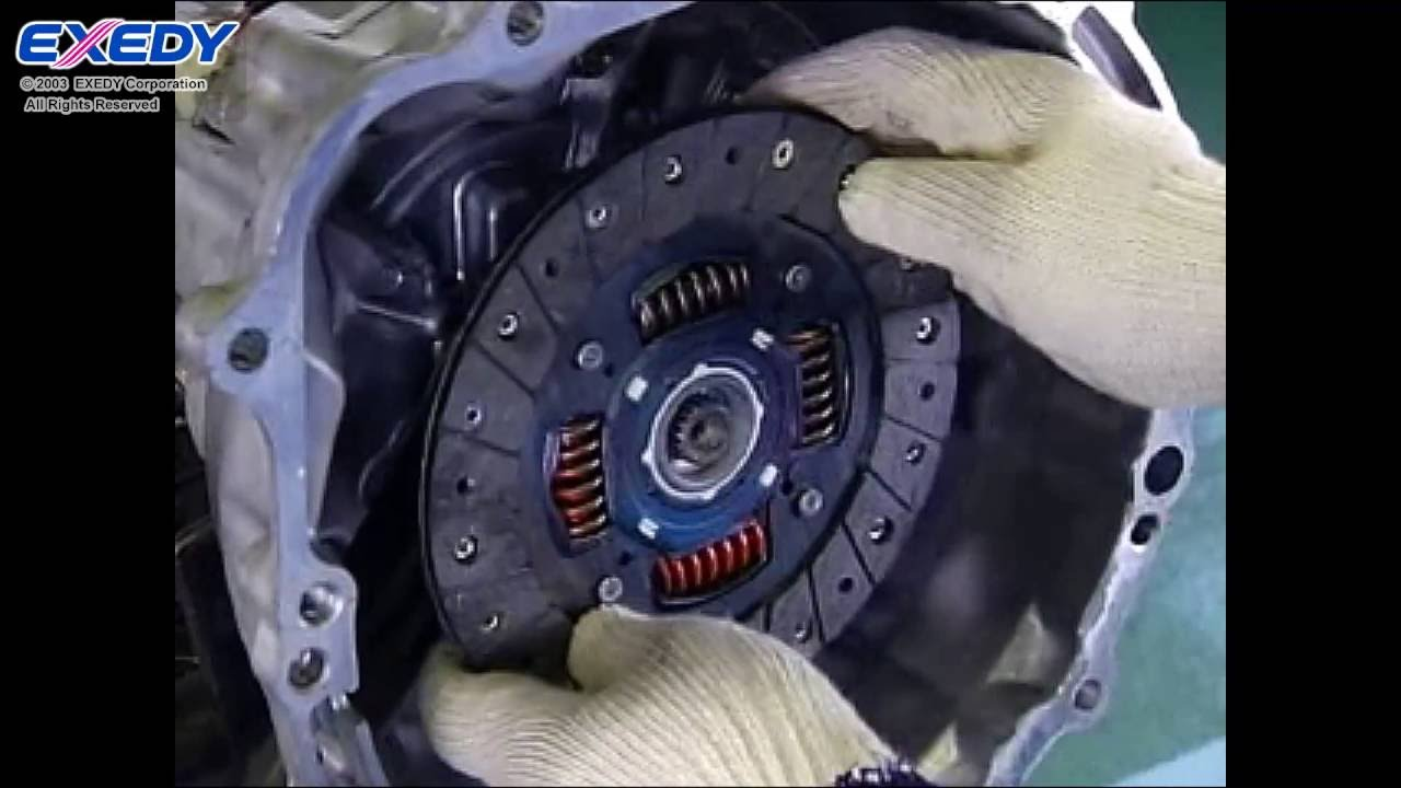 small resolution of exedy tech manual clutch replacement procedures and precautions youtube