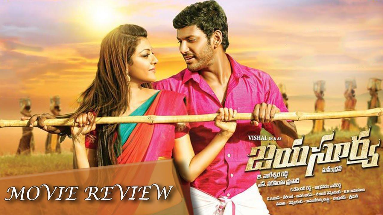 Jayasurya - Full Movie Review In Telugu   Vishal, Kajal ...