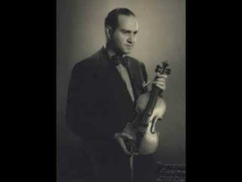 Oistrakh: Tchaikovsky Violin Concerto, 1st Movement, 1939, his most fervent rendition of the work