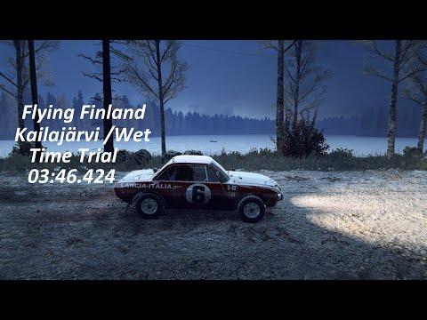 Dirt Rally 2.0. Finland-Kailajärvi. Lancia Fulvia HF 03:46.424  