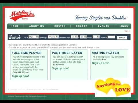 baseboll online dating