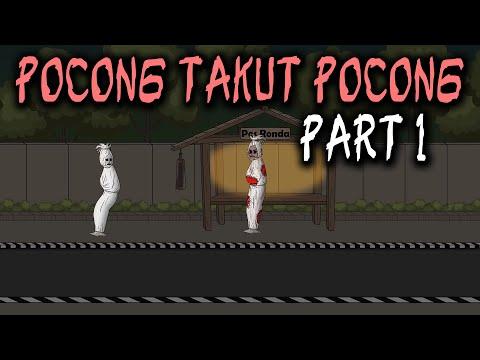 Pocong Takut Pocong | Animasi Horor Kartun Lucu | Warganet Life