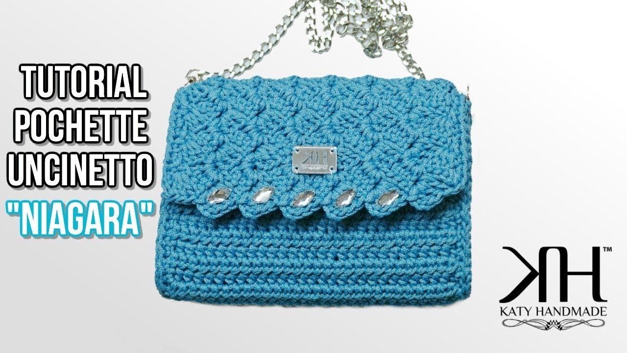 Tutorial Borsa Uncinetto Niagara Punto Prada Crochet Katy