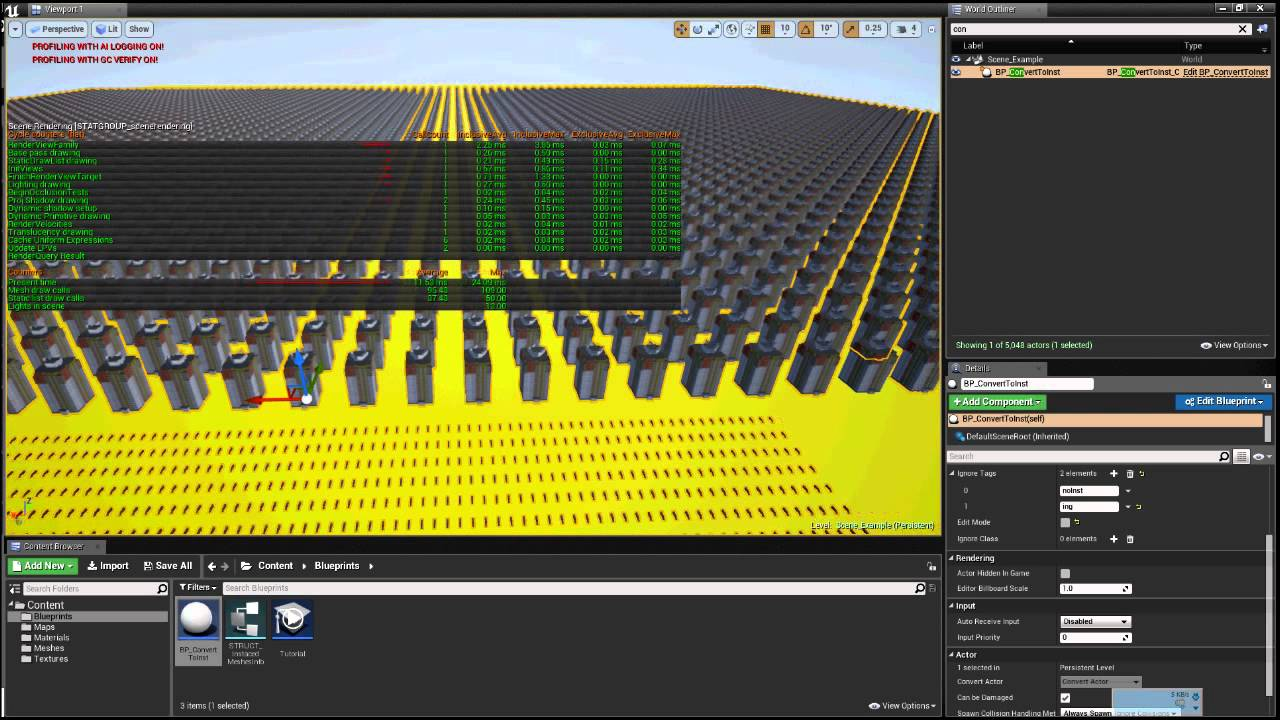 Ue4 blueprint converter to instances blueprint is designed to ue4 blueprint converter to instances blueprint is designed to improve the scene performance malvernweather Gallery
