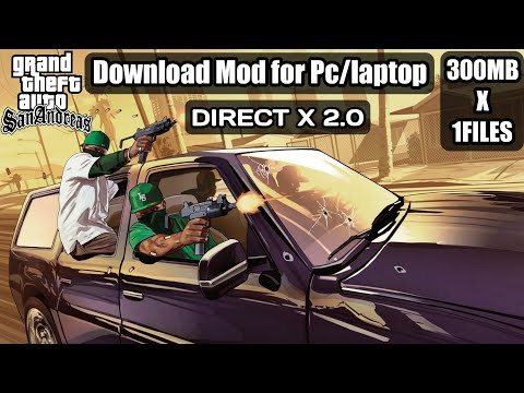 How To Install DirectX 2.0 Mod In GTA SanAndreas For Pc/laptop|100% Working|Hindi