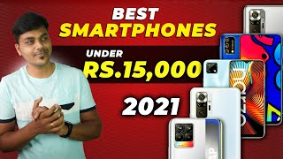Top 5+ Best Mobile Phones Under ₹15000 Budget ⚡⚡⚡ April 2021