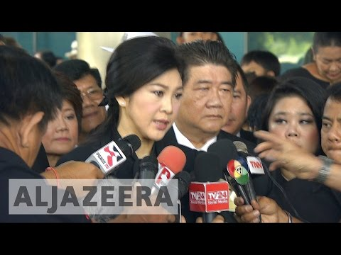 Thailand's Yingluck Shinawatra in court over rice scheme