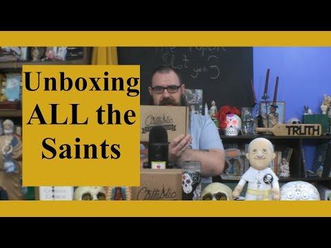 Catholic T-Shirt Club Unboxing: All Saints