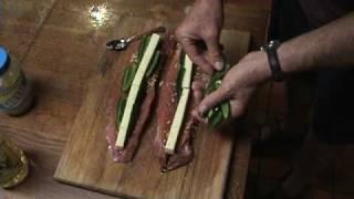 Pork Tenderloin Stuffed With Pepper Jack Cheese & Jalapinos
