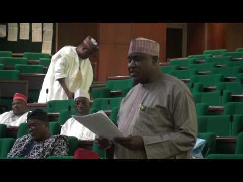 Hon Hassan Adamu Shekarau, 28 January 2016 motion on looming insecurity in North West of Nigeria