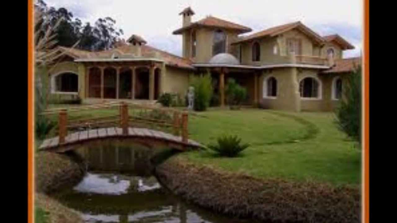 VIVAMOS DIFERENTE Casa Ecolgica de Barro  YouTube