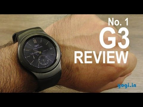 No. 1 G3 smartwatch review - Samsung Gear S2 clone