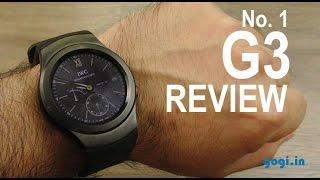 No. 1 G3 smartwatch review - Samsung Gear S2 clone
