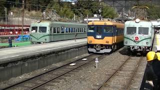 大井川鉄道 近鉄16000系 南海ズームカー 3並び のコピー