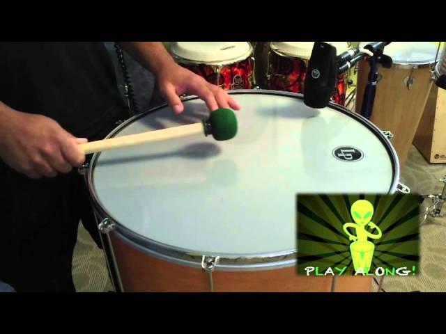 Basic Samba Batucada Lesson with Marcus Santos