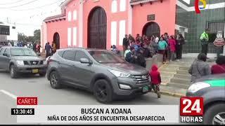 Cañete: personal de inteligencia realiza búsqueda de niña de 2 años desaparecida en Cerro Azul (1/2)