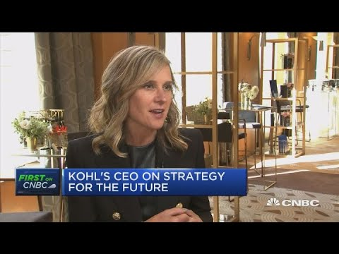 Kohl's is expecting a strong holiday season, CEO says