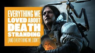 Everything We Loved About Death Stranding (And Everything We Didn't) - Death Stranding Gameplay
