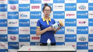 Hướng dẫn cách pha sữa bột Frisolac Gold số 1 cho bé