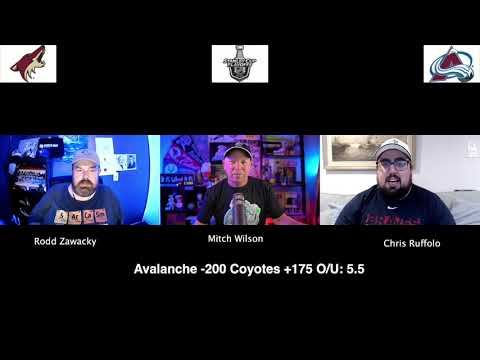 Colorado Avalanche vs Arizona Coyotes 8/14/20 NHL Pick and Prediction Stanley Cup Playoffs