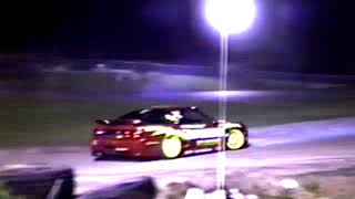 Random Bits Of Night Drifting I Took At Final Bout Gallery With A VHS Camera