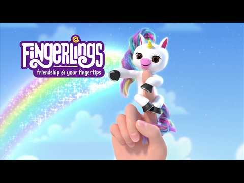 Fingerlings 💜 Gigi The Unicorn 🦄