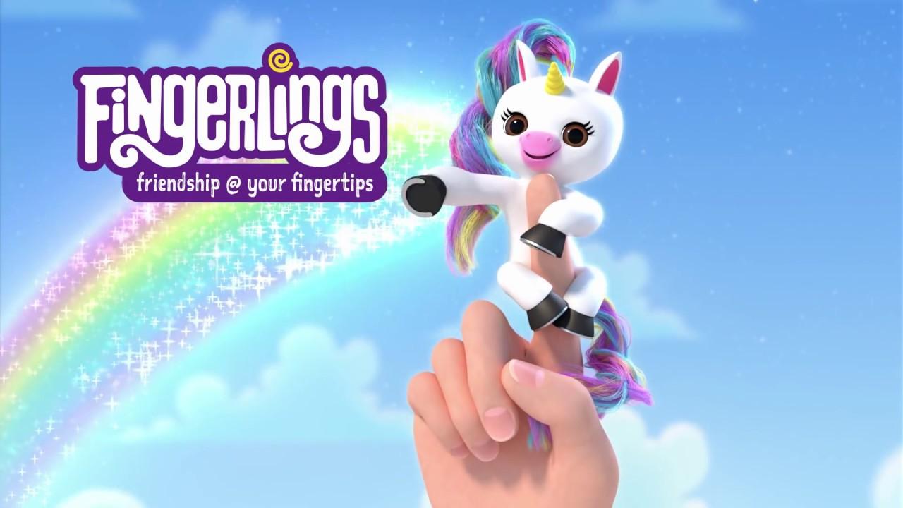 Fingerlings 💜 Gigi The Unicorn 🦄 Youtube
