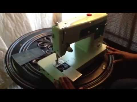 Vintage Singer 347 Sewing Machine How To Wind Bobbin Part 1