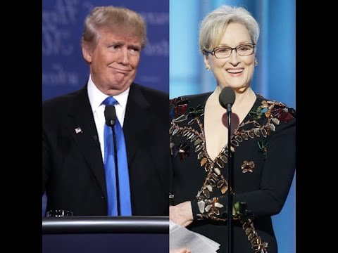 Donald Trump Bullies Meryl Streep After Her Antibullying Speech
