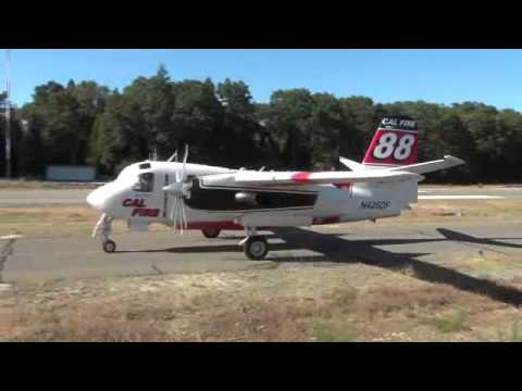 Cal Fire Air Attack Base Grass Valley Cook Fire