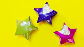 Easy origami - How to make origami lucky star (Star box)