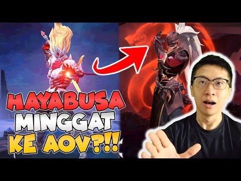 Hayabusa Pindah KE AOV!! KONSPIRASI APA INI? - Arena Of Valor Indonesia