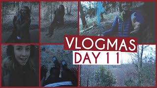 Winter Walk In The Woods & Rope Swinging! • VLOGMAS {DAY 11} Thumbnail