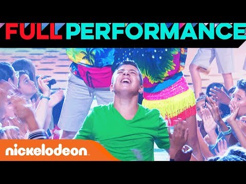 "Salvatore Performs ""Livin' la Vida Loca"" by Ricky Martin 🐒  | Lip Sync Battle Shorties | Nick"