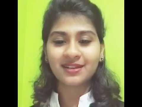 Indian idol junior Nithyashree wishes me..!!
