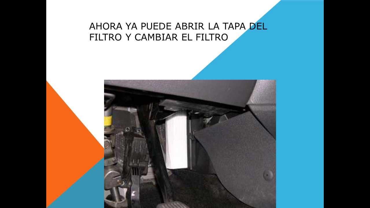 quality design e5795 b3017 Como cambiar filtro habitaculo filtro anti polen en un Ford Kuga