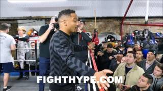 """ANDRE WARD SAYS RETIREMENT """"STILL UP IN THE A..."""