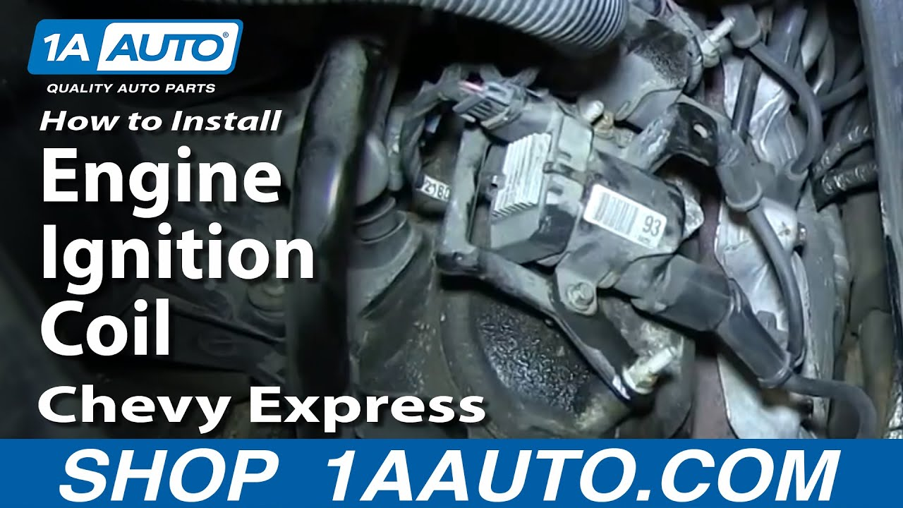 How To Install Replace Engine Ignition Coil Chevy Express Gmc Savana 2005 Astro Van Wiring Diagram 53l 60l Youtube