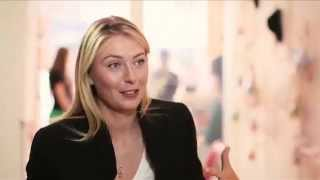 BBC: Maria Sharapova talks to Laura Robson at the Sugarpova Candy Lounge
