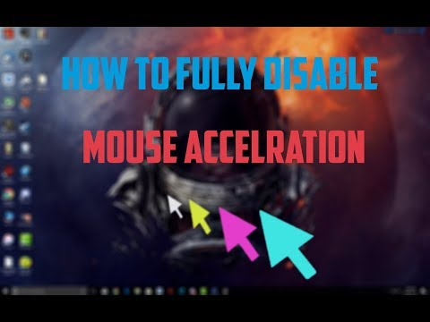 How To Fully Disable Mouse Acceleration Smoothing And Lag For Gaming 2019