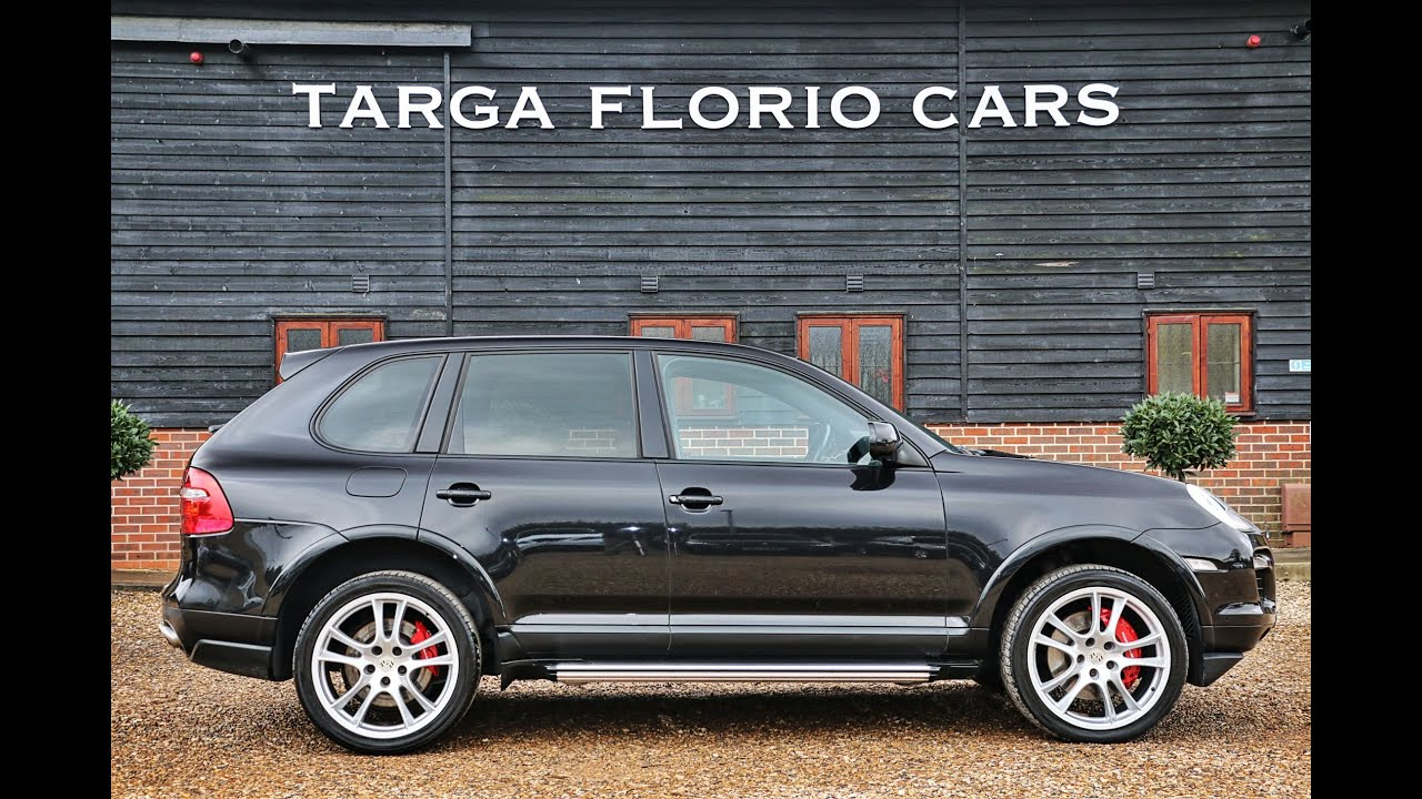 porsche cayenne turbo 4 8 v8 twinturbo 6 speed automatic in basalt black london uk youtube. Black Bedroom Furniture Sets. Home Design Ideas