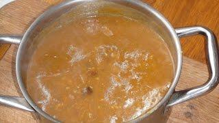 Рецепт грибної підливи