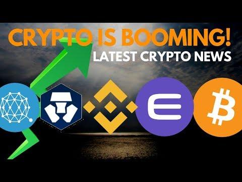 Massive Surge! BTC Nears $7000, Crypto.com, Enjin, IOHK & ADA, Binance, QTUM – Crypto News