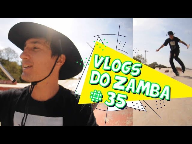 Patinando Sozinho - Vlogs do Zamba #35