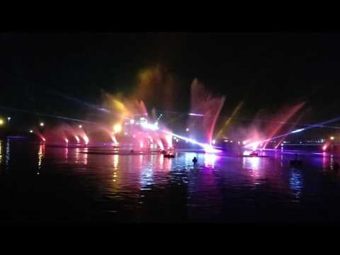 Largest Water Screen projection in Dubai Festival City 2017