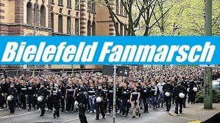 VfL Bochum 1:1 Arminia Bielefeld | Fanmarsch