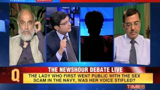The Newshour Debate: Will the Indian Navy conduct a fair probe in the sex scandal? (The Full Debate)